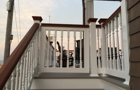 Phoenix Railings Mahogany and PVC