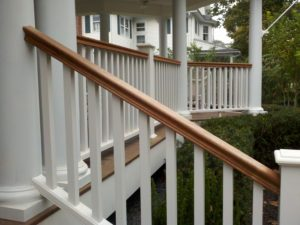 Phoenix Mahogany Railings