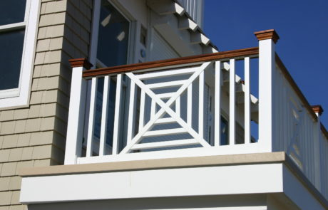 Phoenix PVC Railings Designer Series