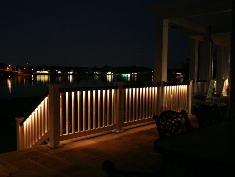 Ambience Lighted Railings By Phoenix Manufacturing