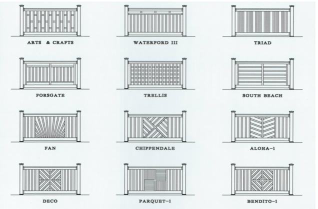 Phoenix Designer PVC Railings