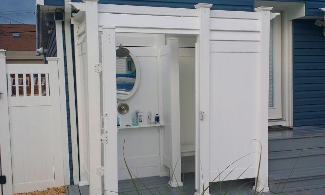 Pvc Outdoor Shower Enclosures Phoenix Manufacturing