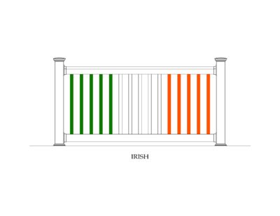 Phoenix Manufacturing Specialty Panels - Irish Flag