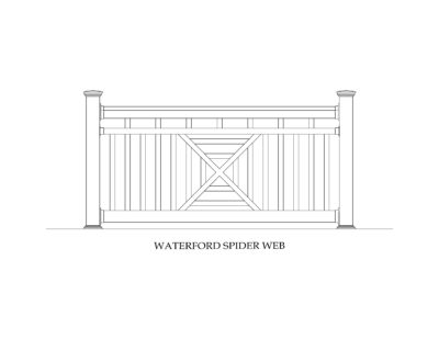 Phoenix Manufacturing Specialty Panels - Waterford Spider Web